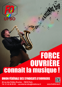 Elections 2018 UFSO Affiche On connait la musique